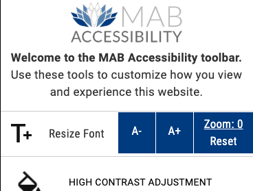 Benefits of Web Accessibility Toolbar